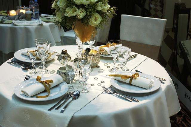 sala weselna przygotowania
