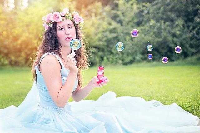 weselne bańki mydlane